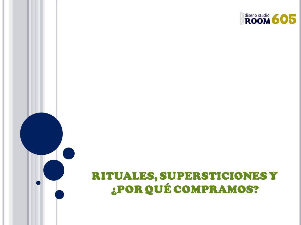 RITUALES, SUPERSTICIONES Y ¿POR QUÉ COMPRAMOS