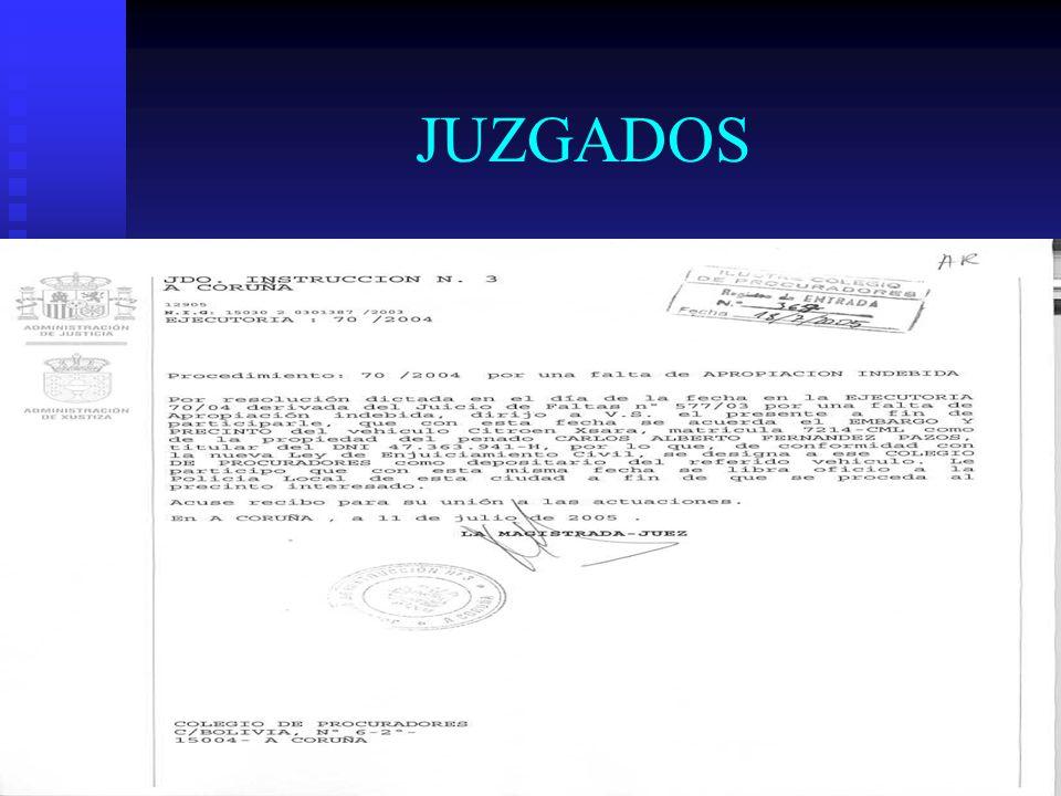 JUZGADOS