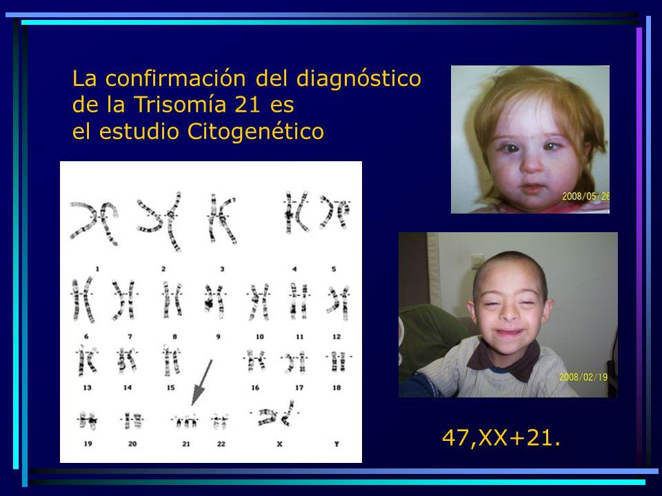 La confirmación del diagnóstico