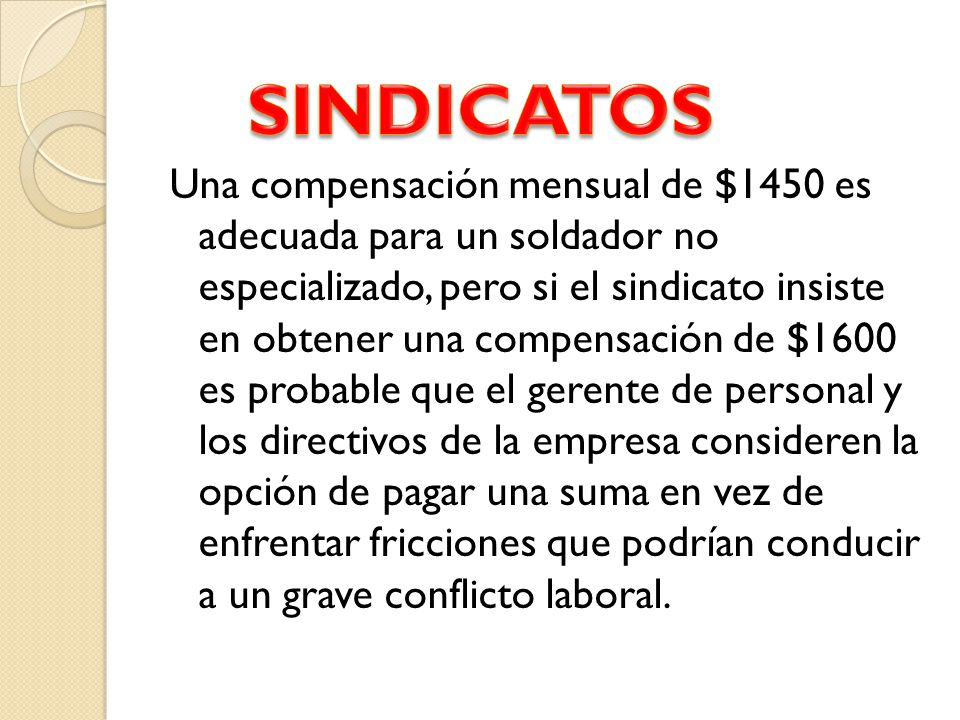 SINDICATOS