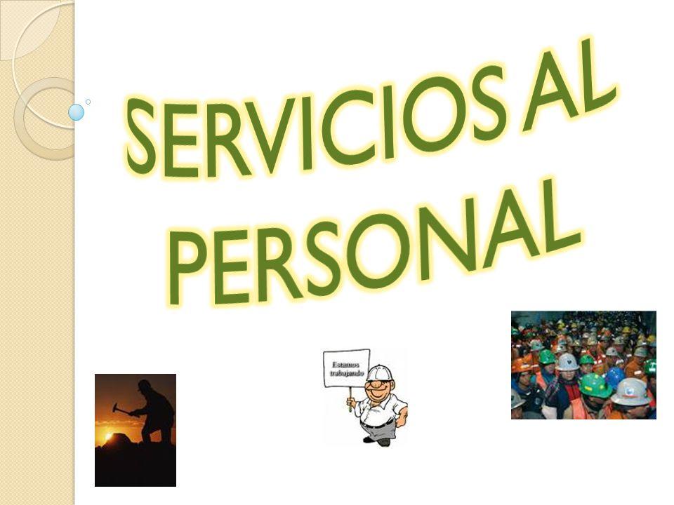 SERVICIOS AL PERSONAL