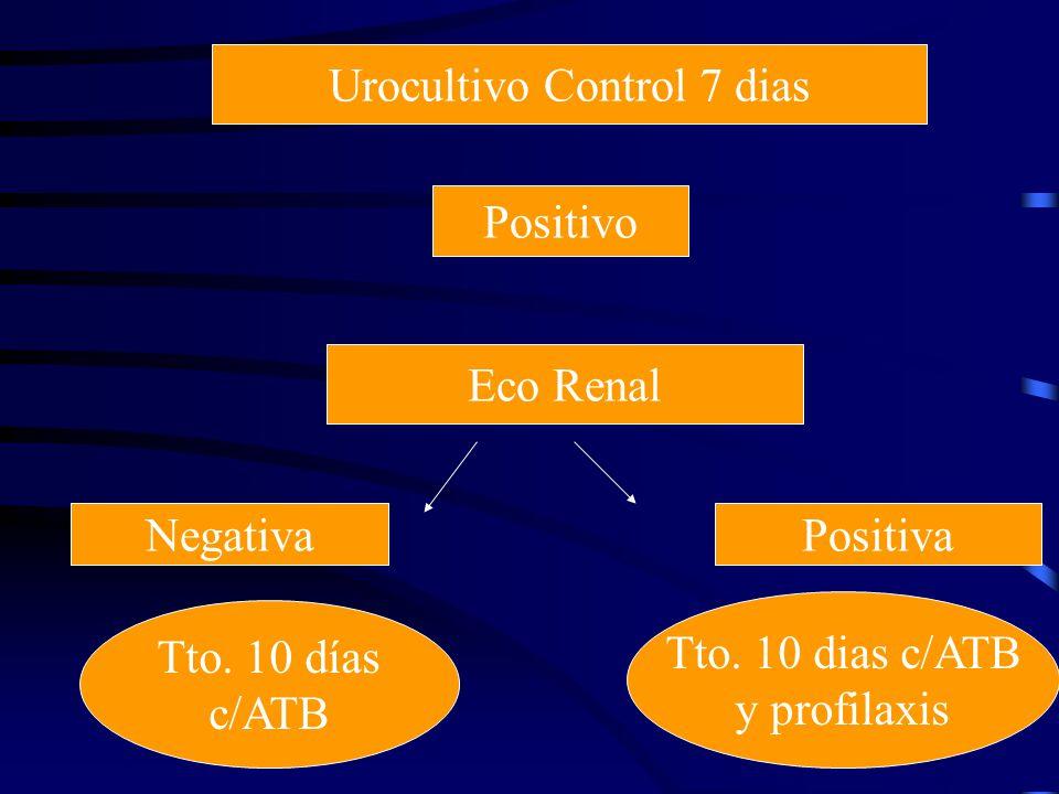 Urocultivo Control 7 dias