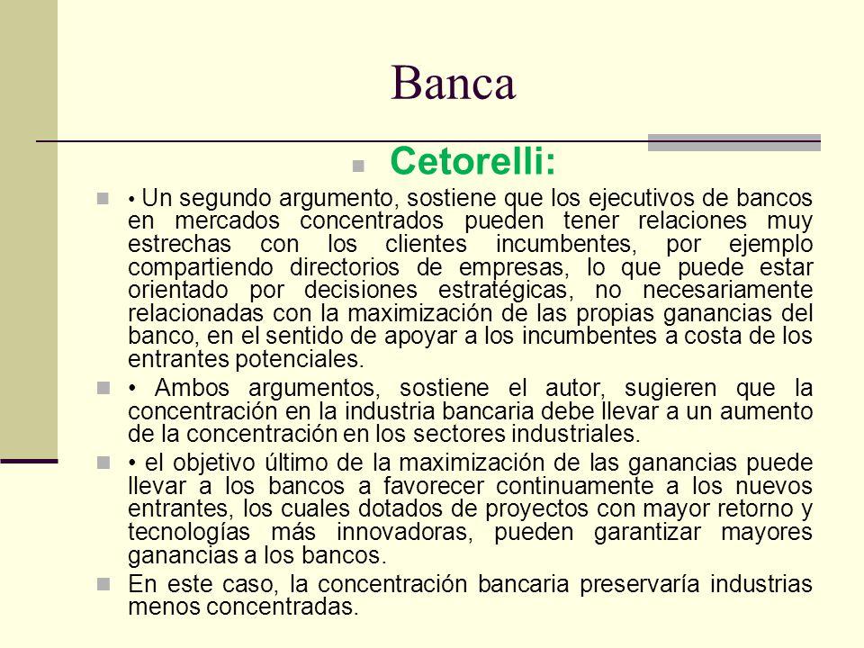 Banca Cetorelli: