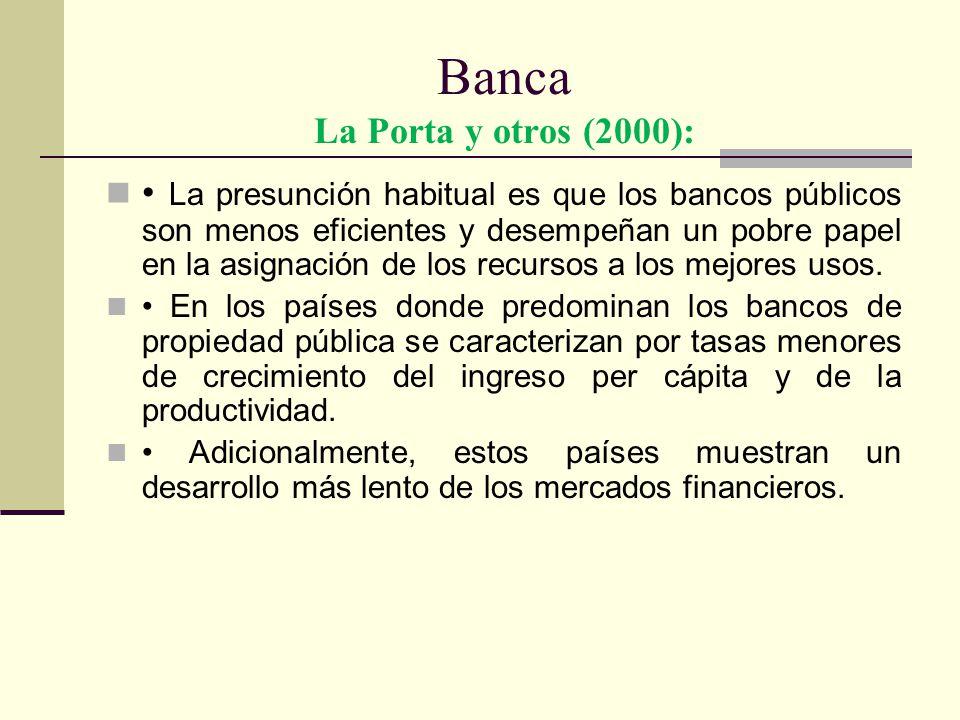 Banca La Porta y otros (2000):