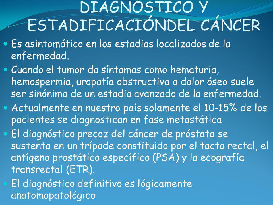 DIAGNÓSTICO Y ESTADIFICACIÓNDEL CÁNCER