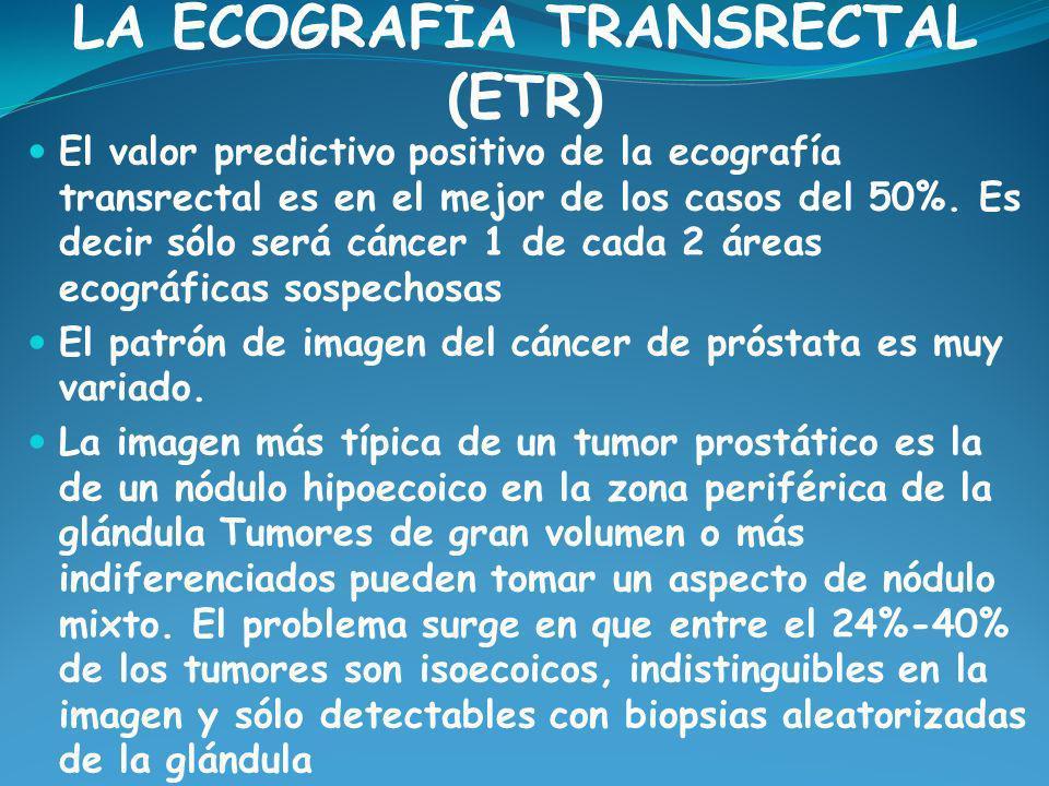 LA ECOGRAFÍA TRANSRECTAL (ETR)