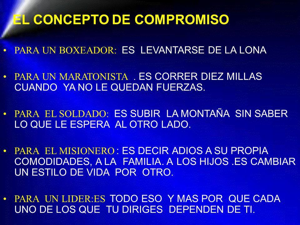 EL CONCEPTO DE COMPROMISO