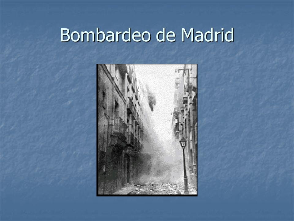 Bombardeo de Madrid