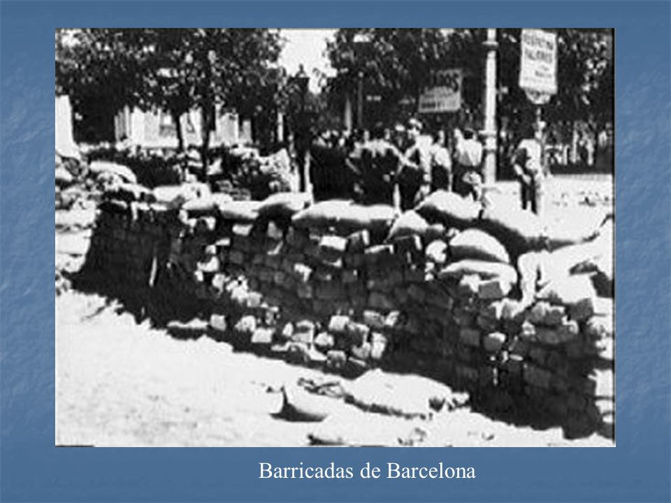 Barricadas de Barcelona