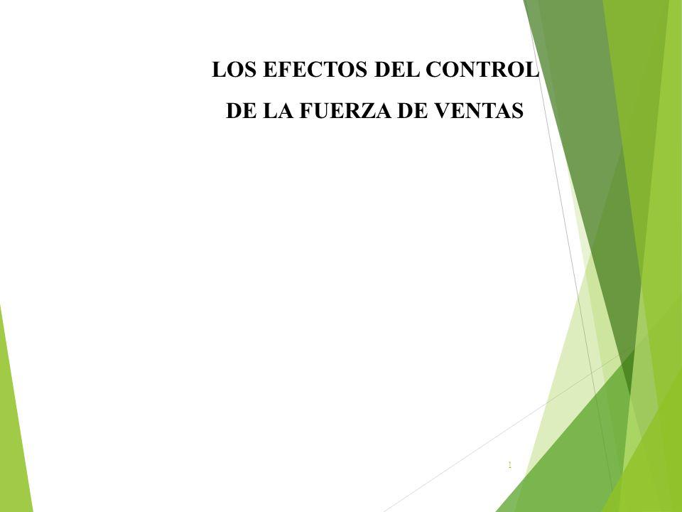 LOS EFECTOS DEL CONTROL