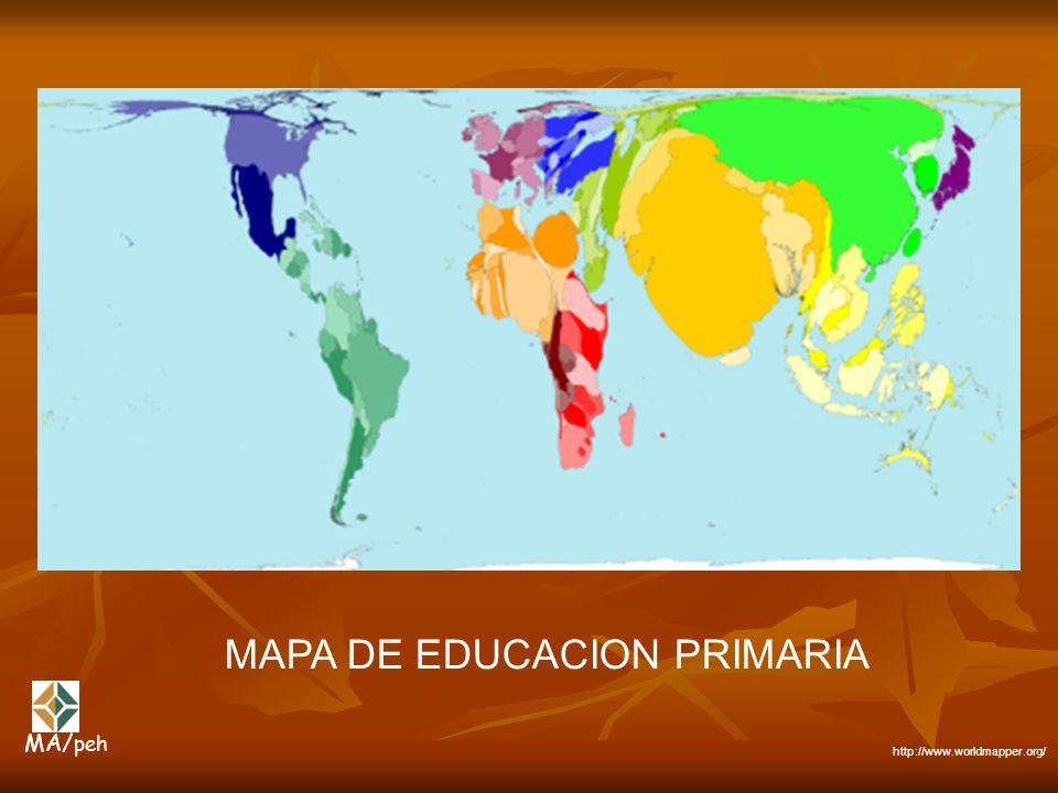 MAPA DE EDUCACION PRIMARIA