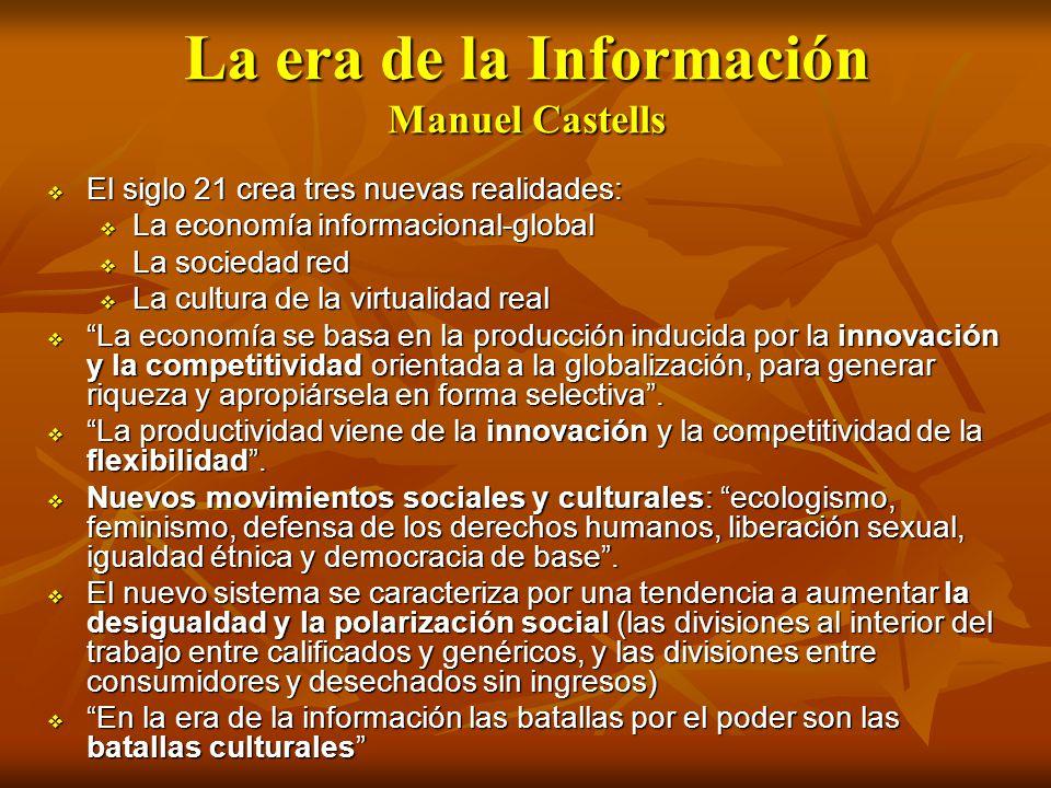 La era de la Información Manuel Castells