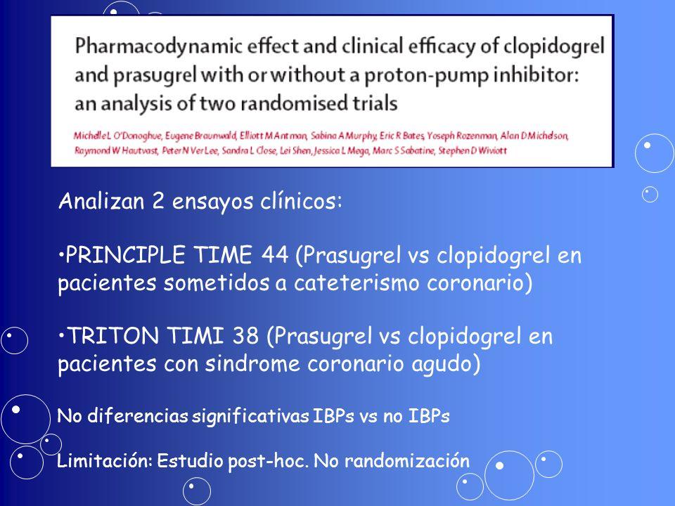 Analizan 2 ensayos clínicos: