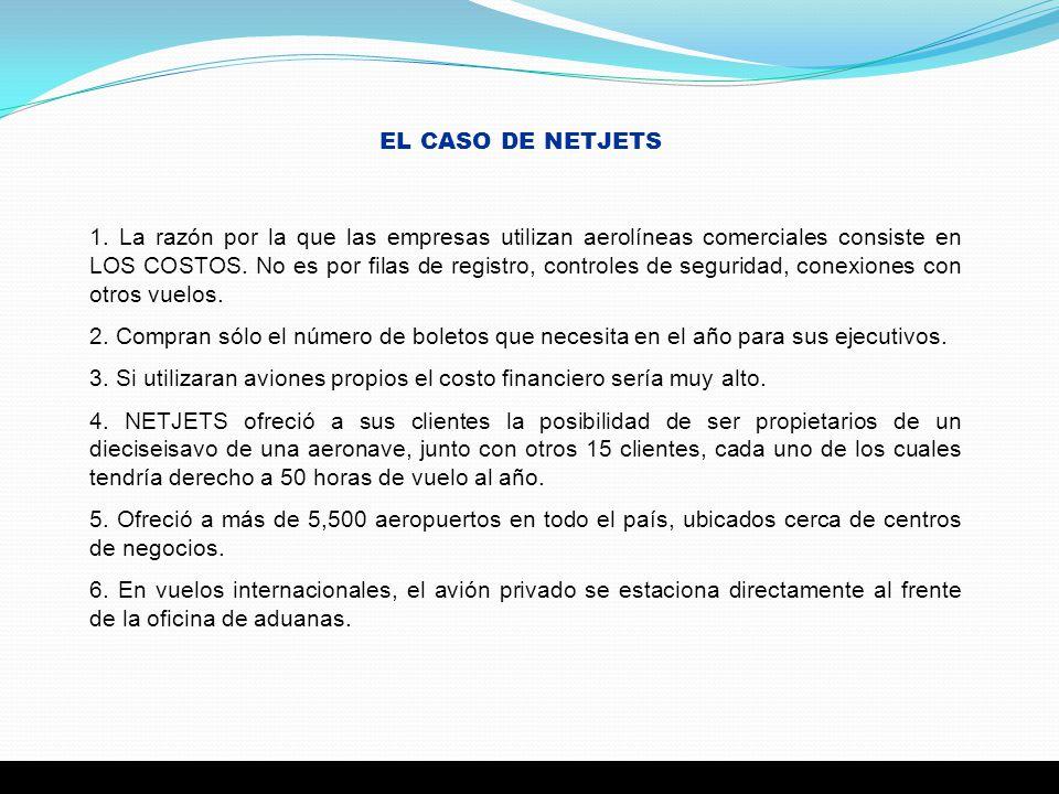 EL CASO DE NETJETS