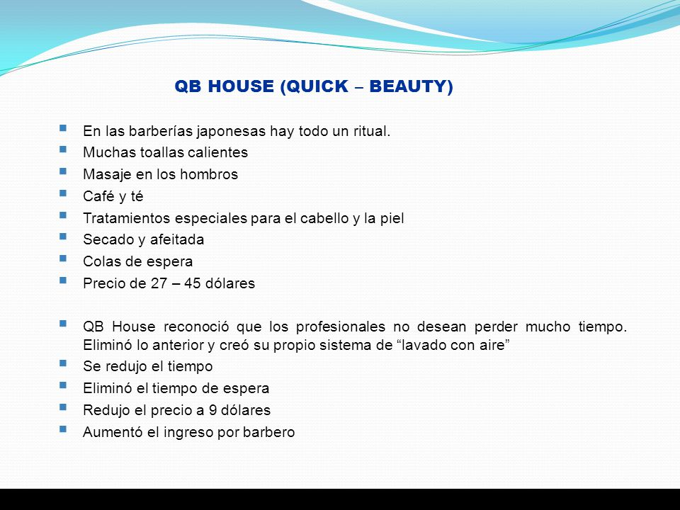 QB HOUSE (QUICK – BEAUTY)