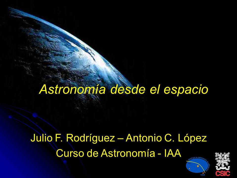 Astronomía desde el espacio