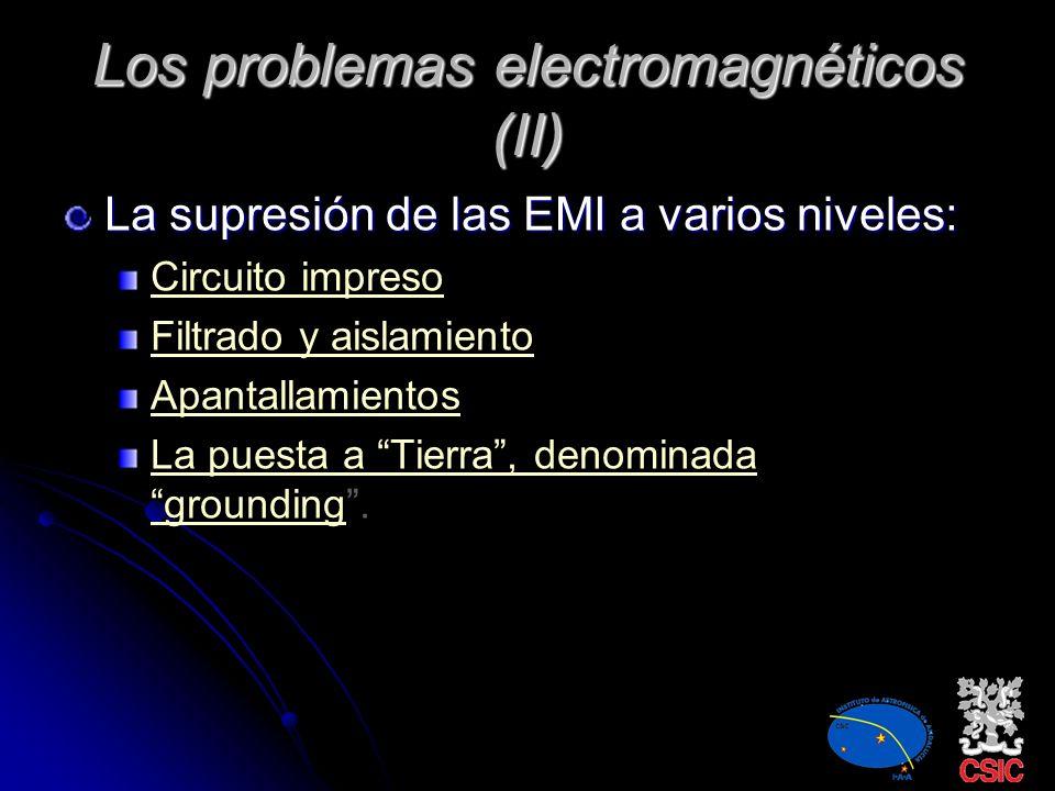 Los problemas electromagnéticos (II)