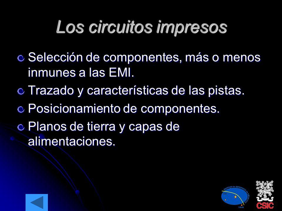 Los circuitos impresos