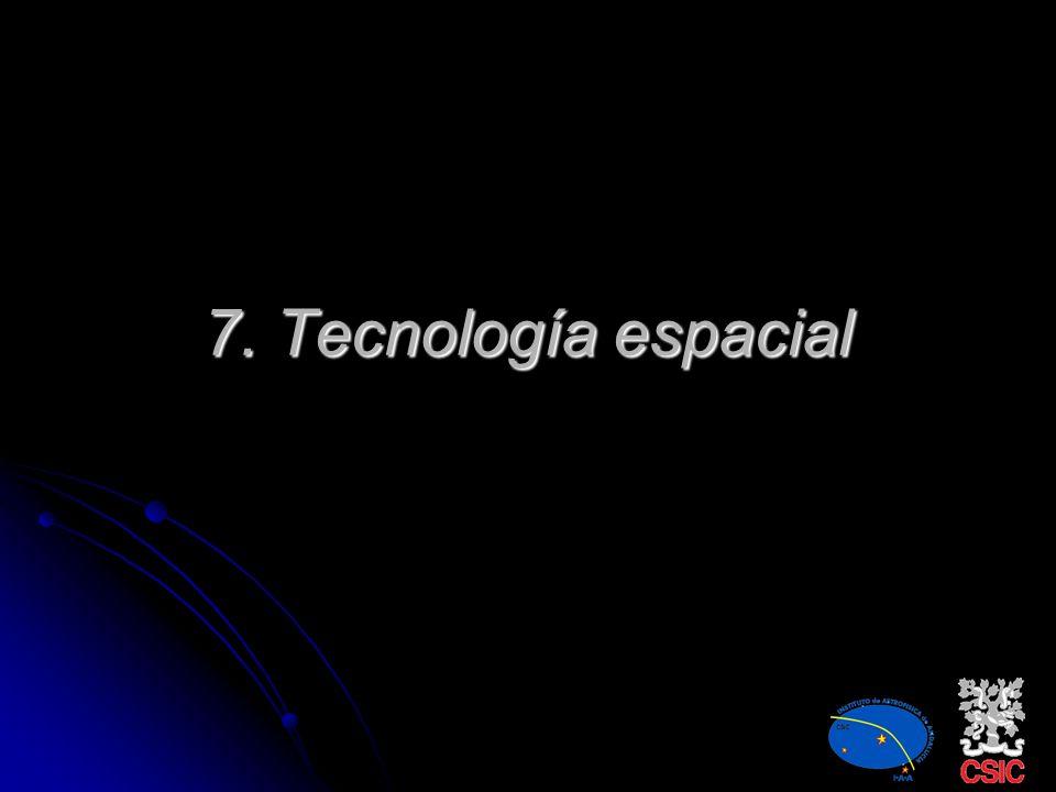 7. Tecnología espacial