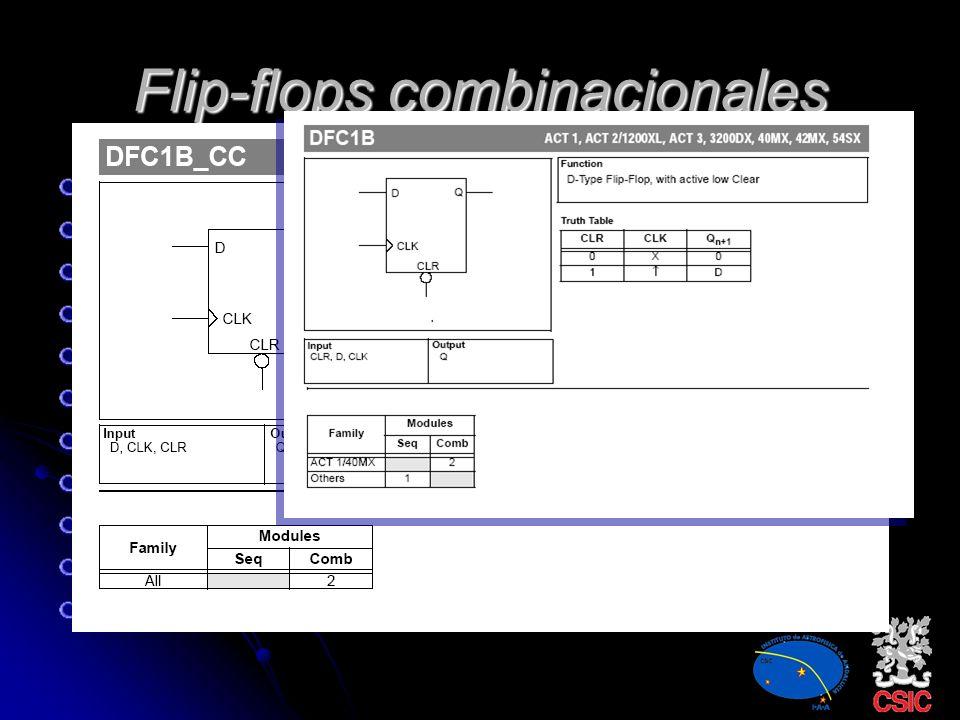 Flip-flops combinacionales