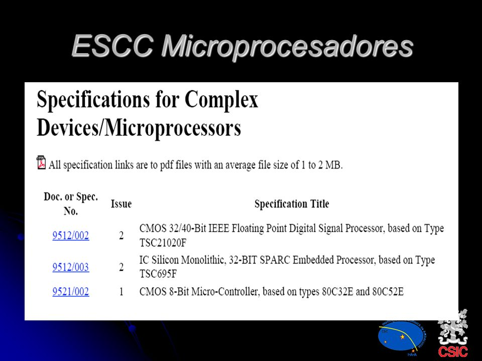 ESCC Microprocesadores
