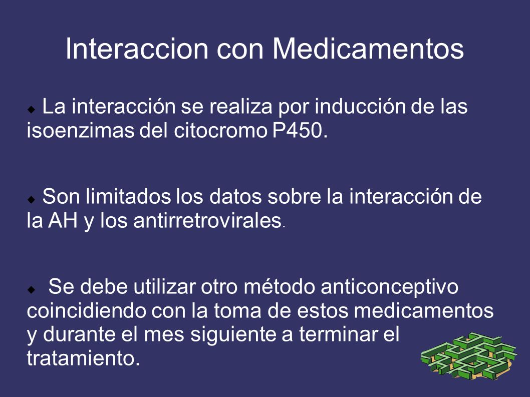 Interaccion con Medicamentos