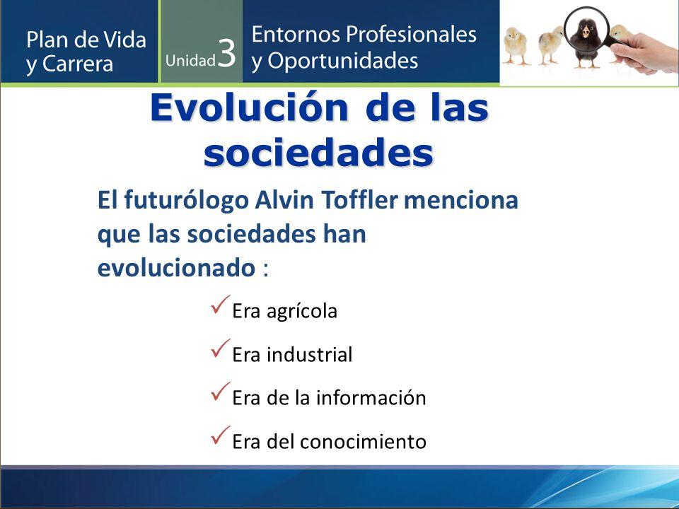 Evolución de las sociedades