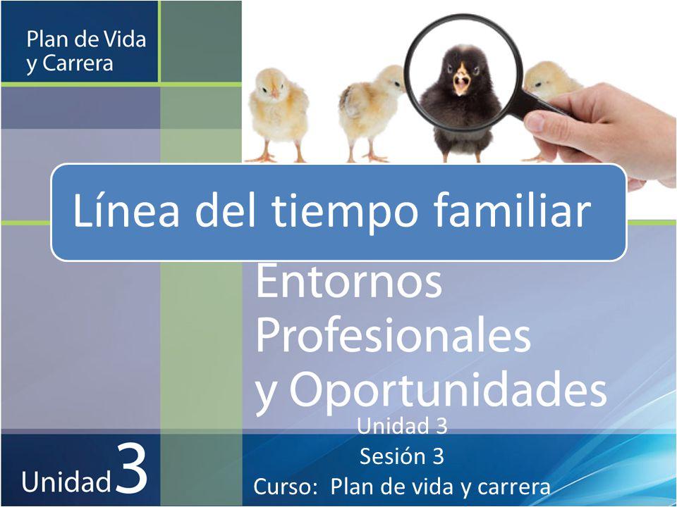 Unidad 3 Sesión 3 Curso: Plan de vida y carrera