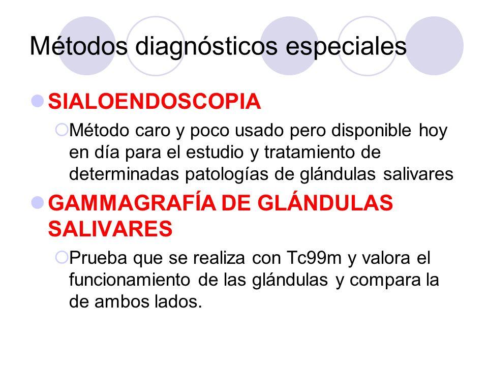 Métodos diagnósticos especiales