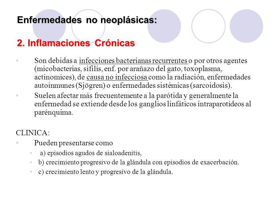 Enfermedades no neoplásicas: 2. Inflamaciones Crónicas