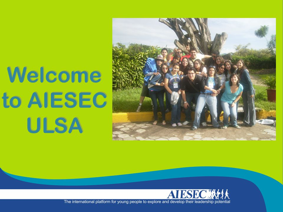Welcome to AIESEC ULSA