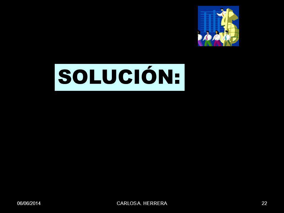 SOLUCIÓN: 01/04/2017 CARLOS A. HERRERA