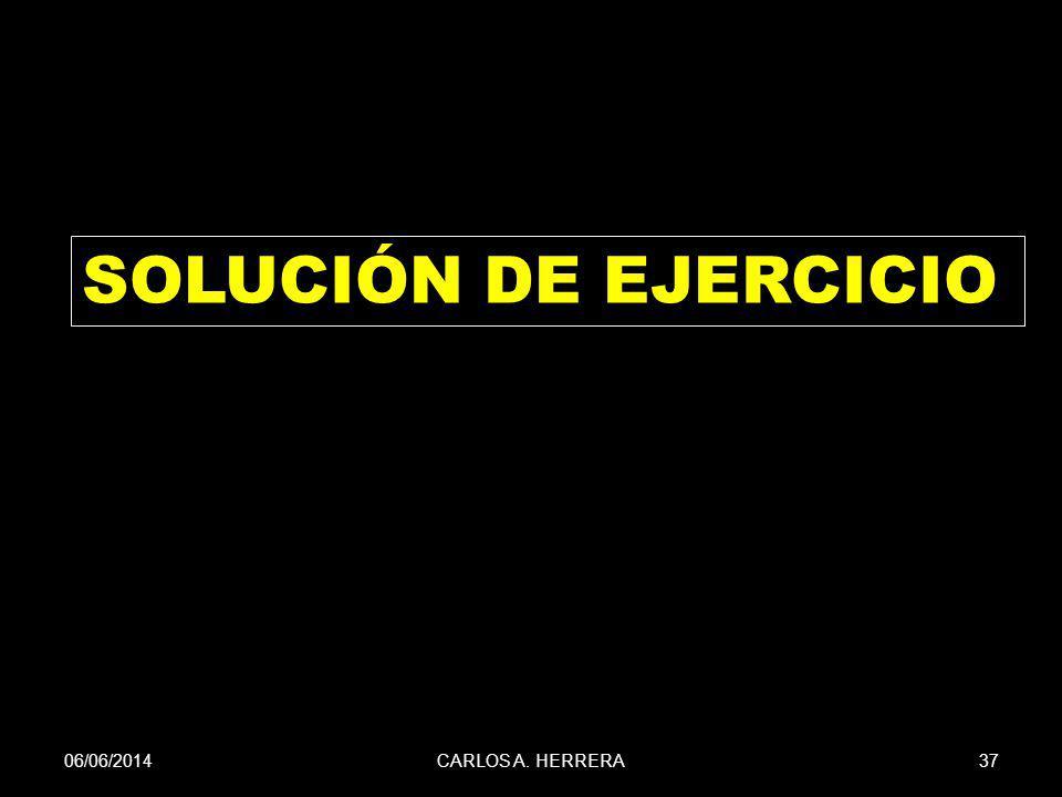 SOLUCIÓN DE EJERCICIO 01/04/2017 CARLOS A. HERRERA