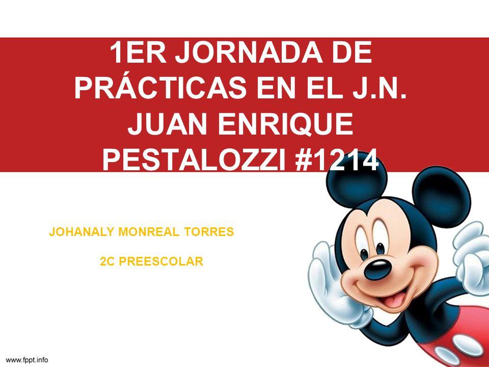 1ER JORNADA DE PRÁCTICAS EN EL J.N. JUAN ENRIQUE PESTALOZZI #1214