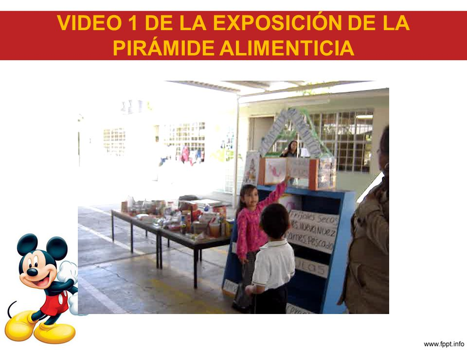 VIDEO 1 DE LA EXPOSICIÓN DE LA PIRÁMIDE ALIMENTICIA