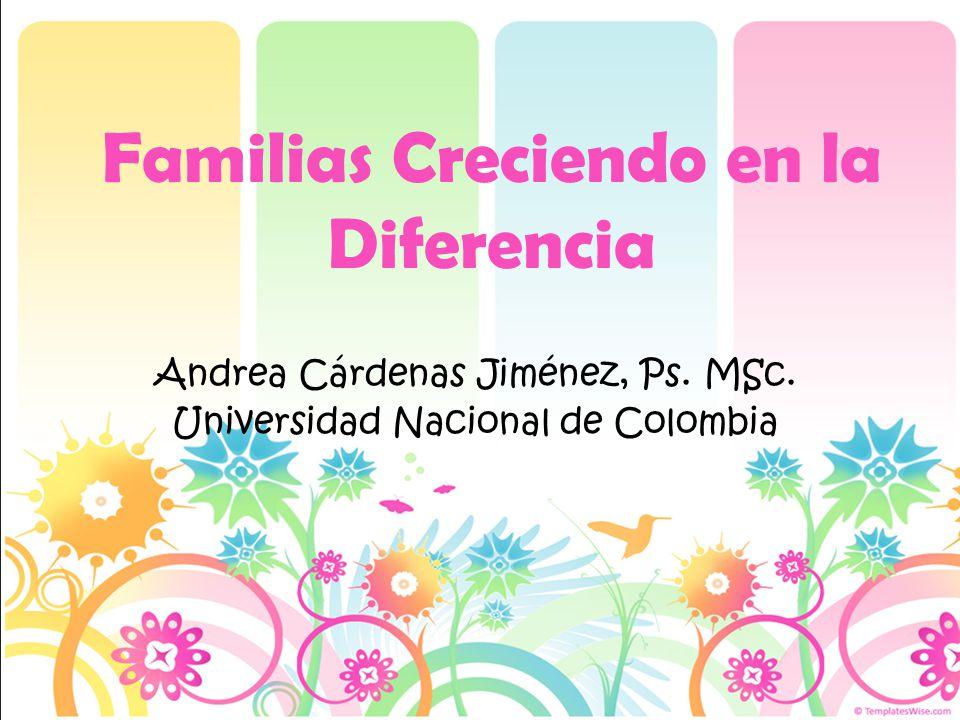 Familias Creciendo en la Diferencia