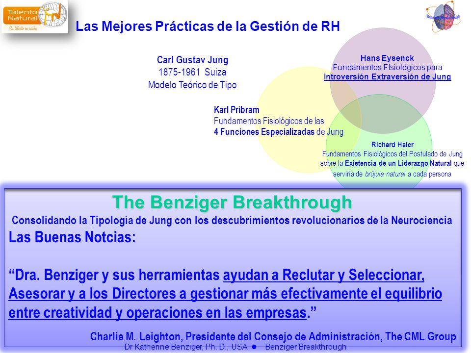 Las Mejores Prácticas de la Gestión de RH The Benziger Breakthrough