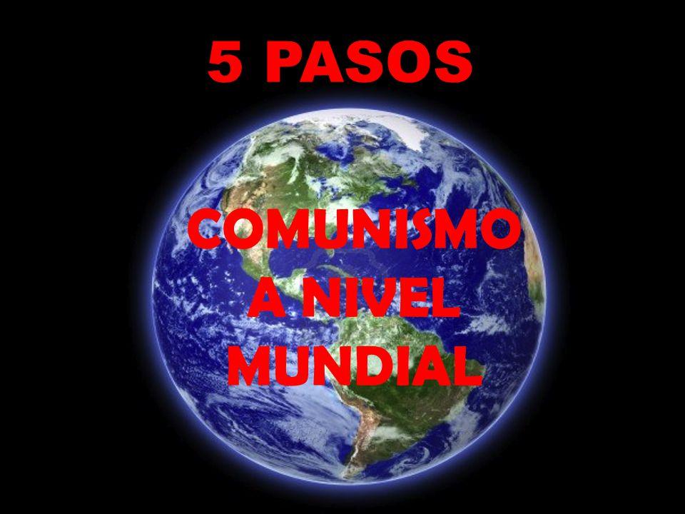 COMUNISMO A NIVEL MUNDIAL