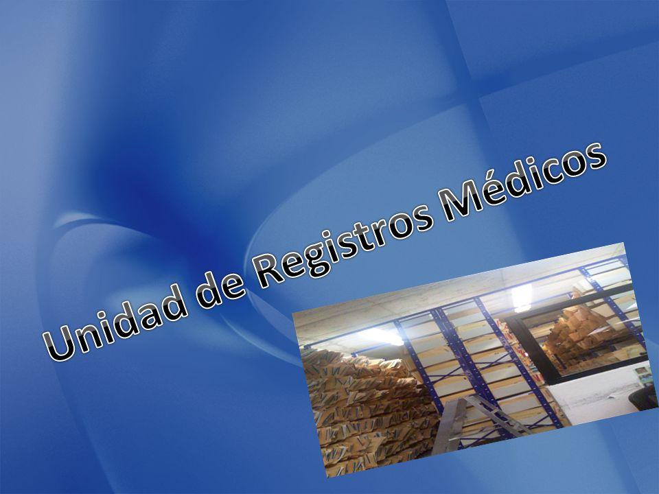 Unidad de Registros Médicos