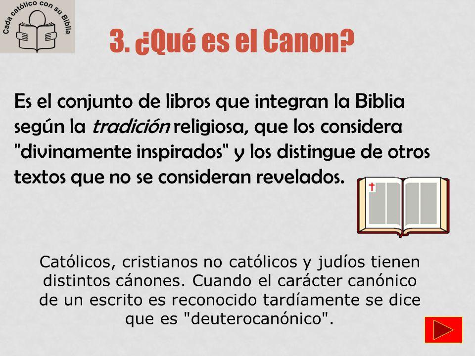 3. ¿Qué es el Canon