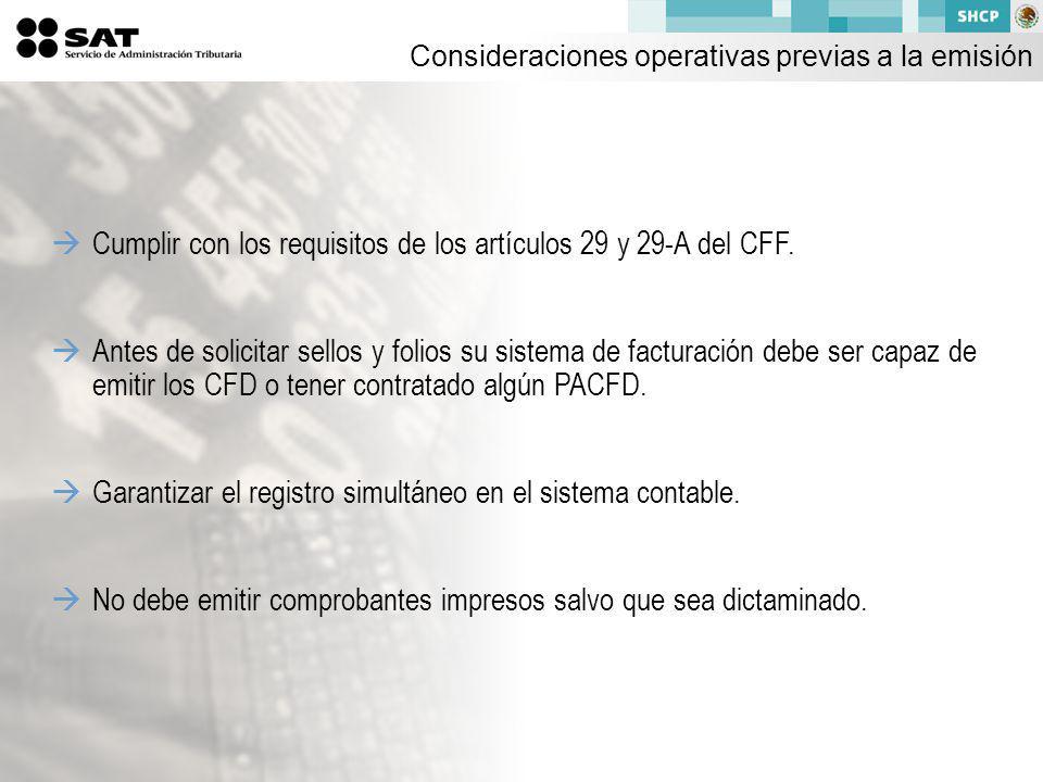 Cumplir con los requisitos de los artículos 29 y 29-A del CFF.