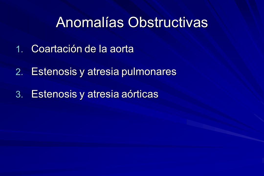 Anomalías Obstructivas