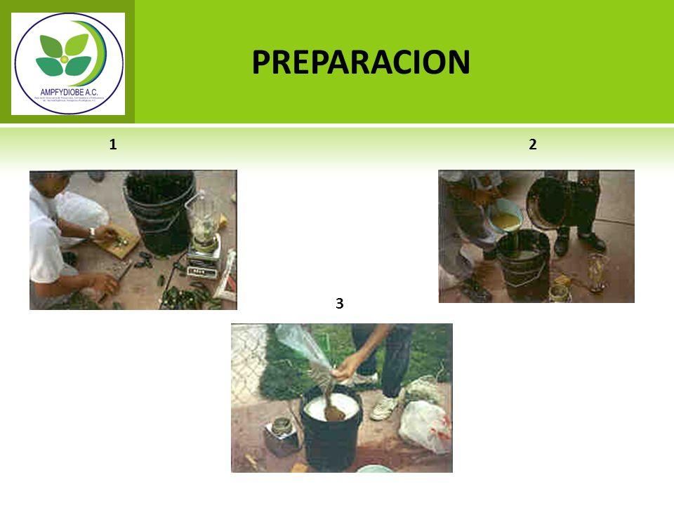 PREPARACION 1 2 3