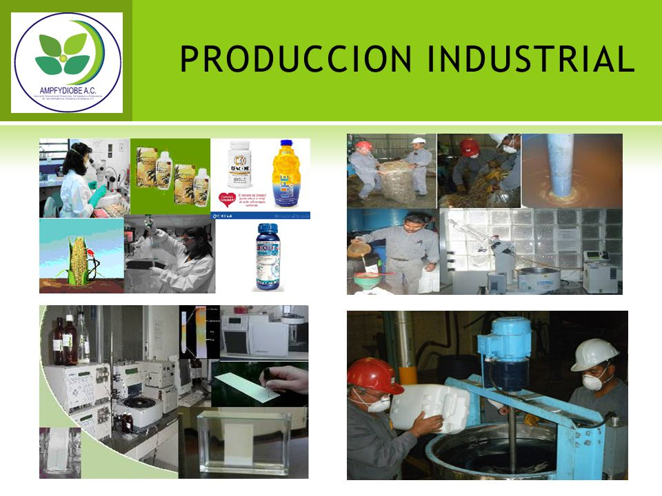 PRODUCCION INDUSTRIAL