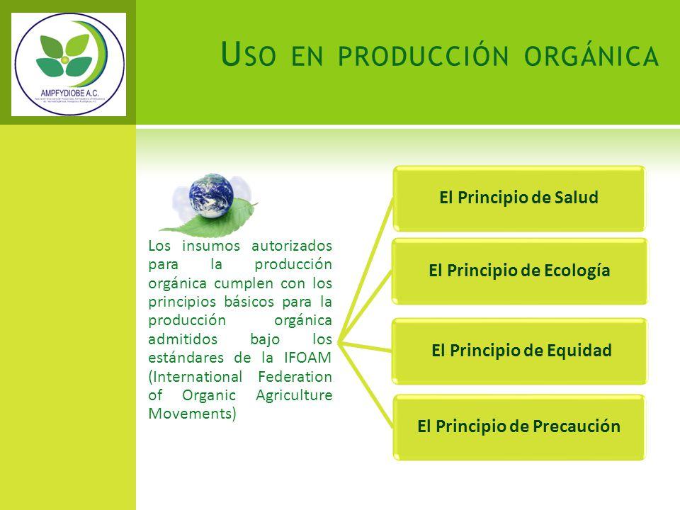 El Principio de Ecología El Principio de Precaución