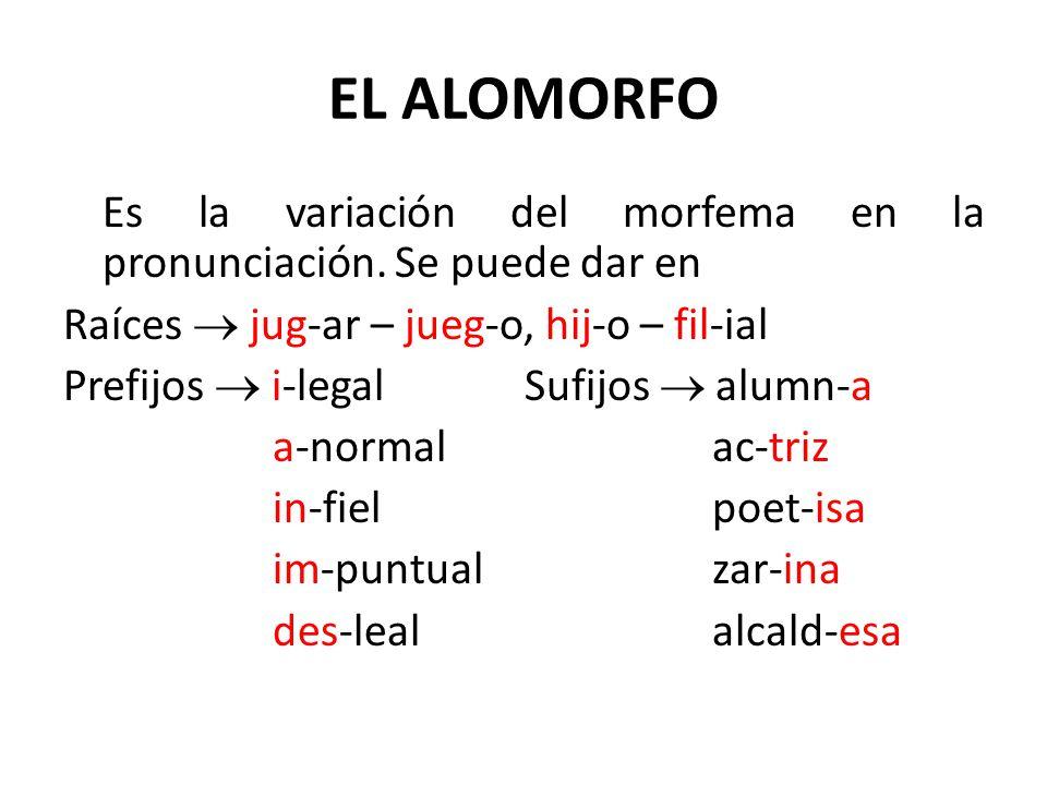EL ALOMORFO