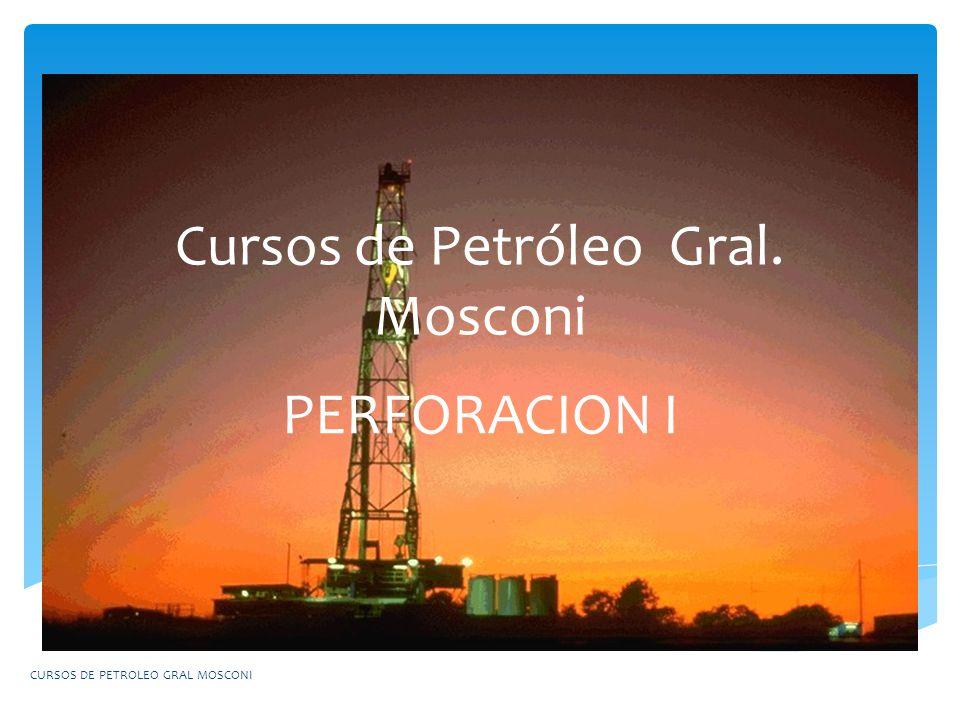 Cursos de Petróleo Gral. Mosconi