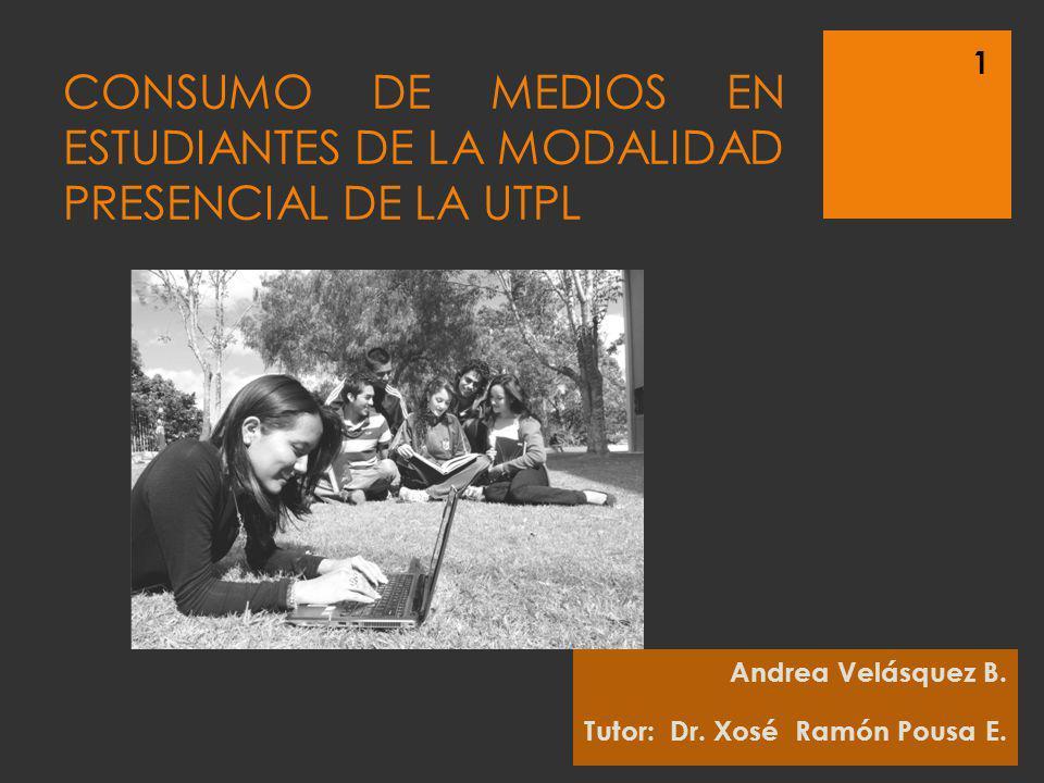 CONSUMO DE MEDIOS EN ESTUDIANTES DE LA MODALIDAD PRESENCIAL DE LA UTPL