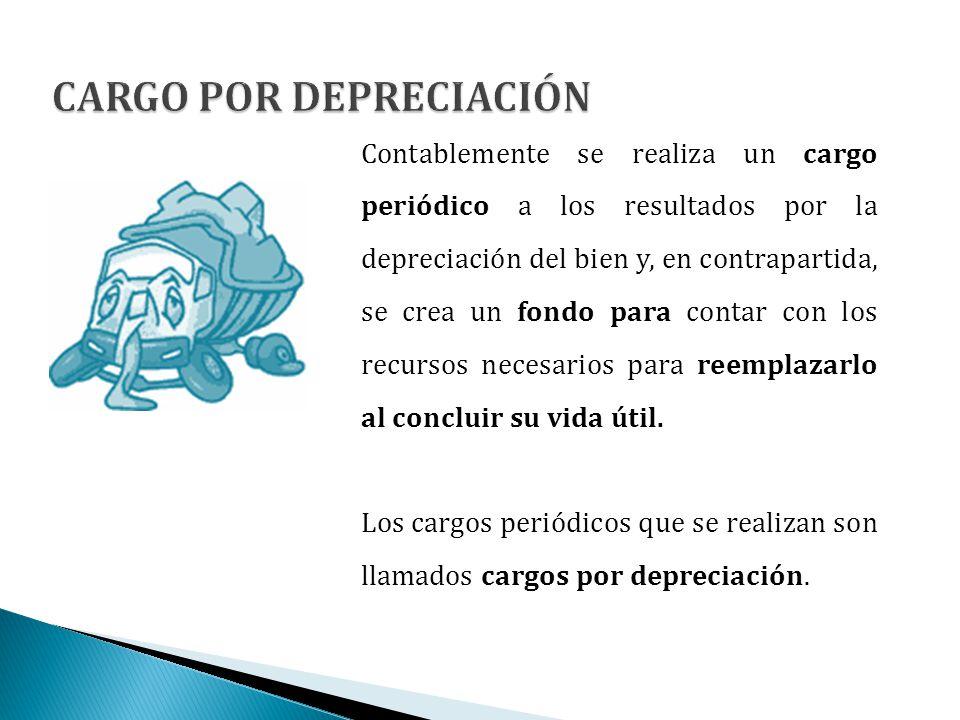 CARGO POR DEPRECIACIÓN