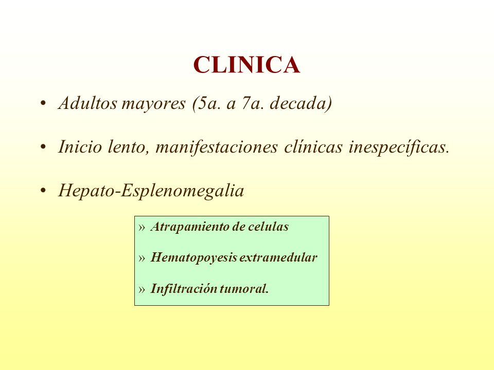 CLINICA Adultos mayores (5a. a 7a. decada)